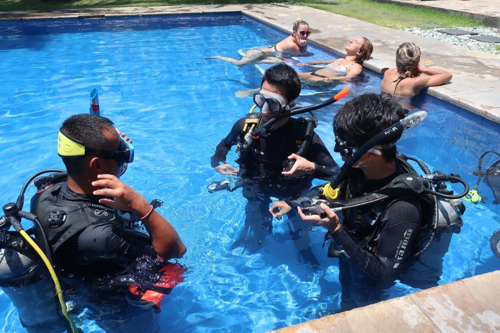 pool lesson