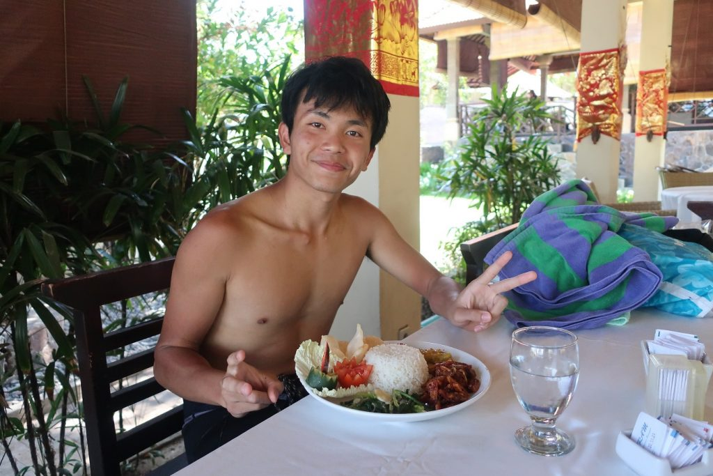 Kentaro lunch