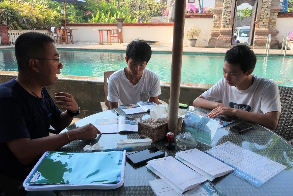 Briefing Bali Ocean