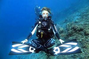 Buoyancy for diving in Bali