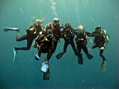 dive training Bali