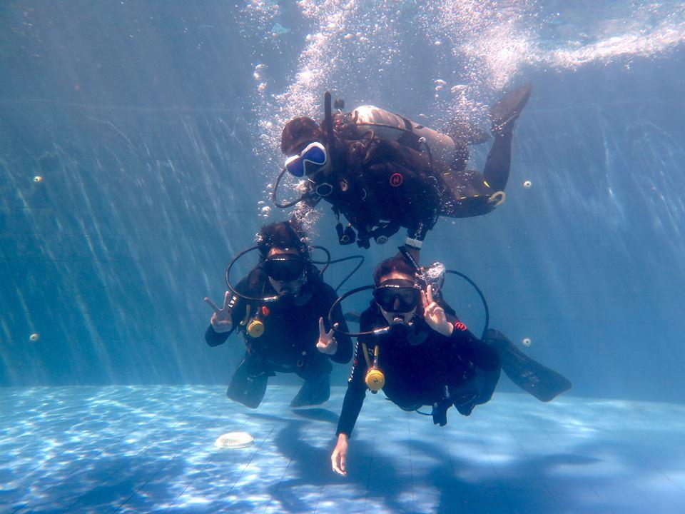 PADI Discover Scuba Diving Bali