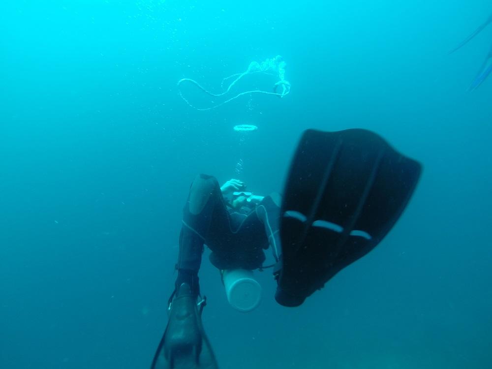 lover of the ocean in bali