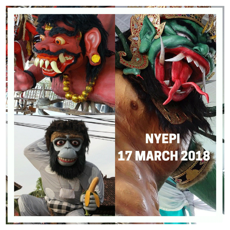 Nyepi 2018 Bali