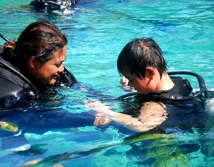 Scuba Diving with Children