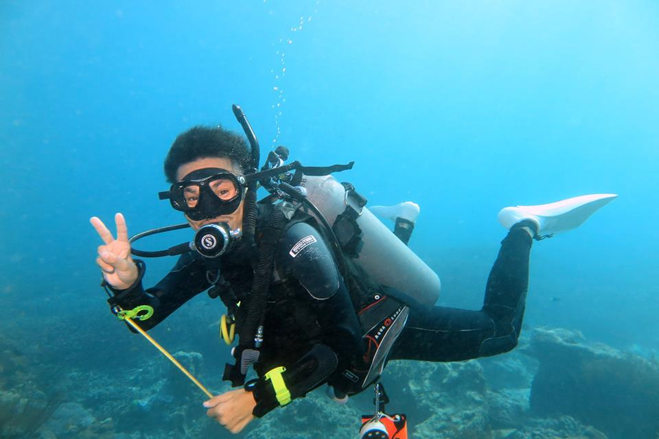 Diving Blue Corner Bali