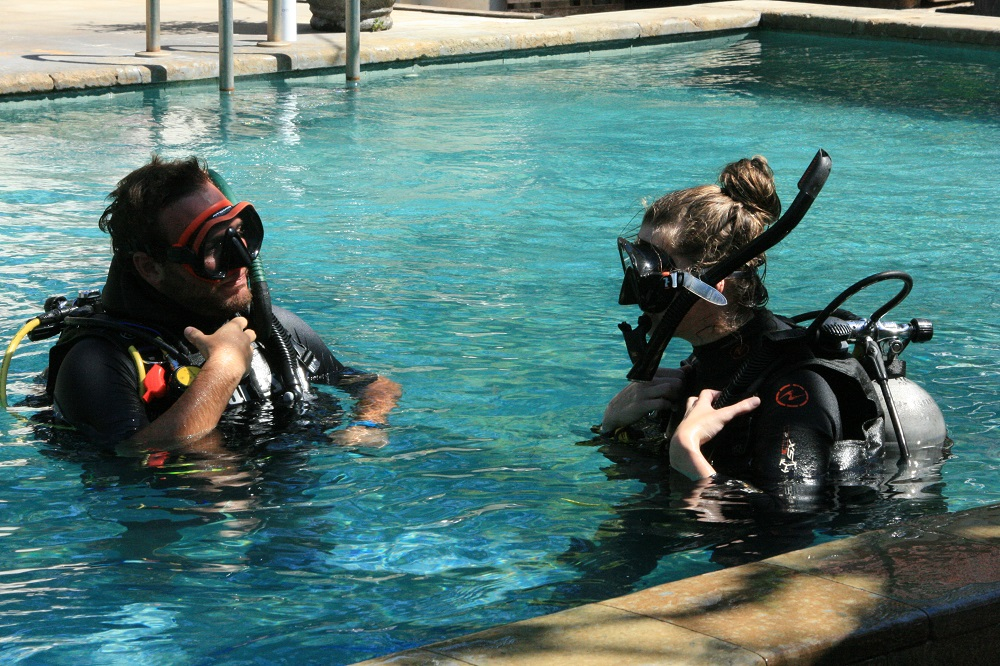 Common mistakes made by new divers