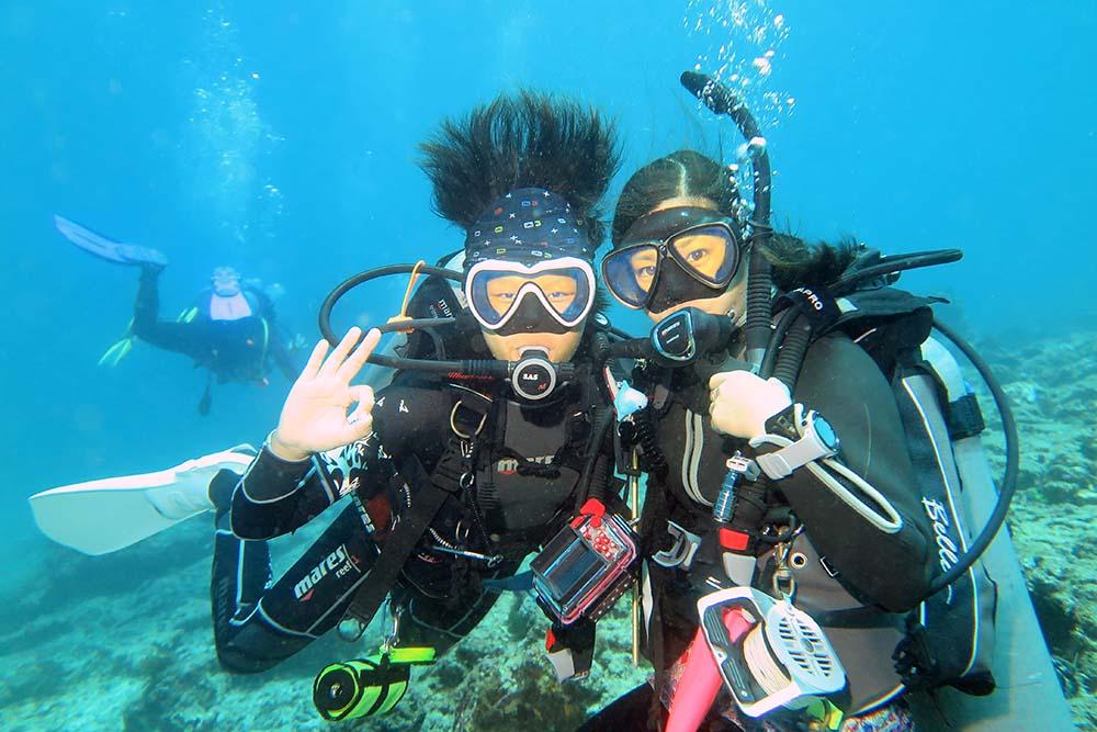 Divers Padang Bai