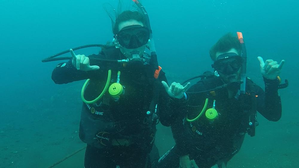 PADI Open Water Diver in Bali