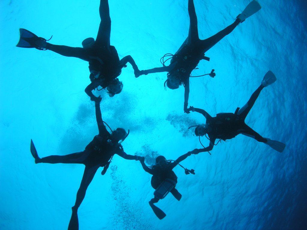 Diving in Bali