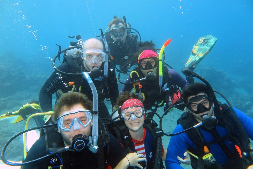 PADI Open Water Diver and Advanced Open Water Bali