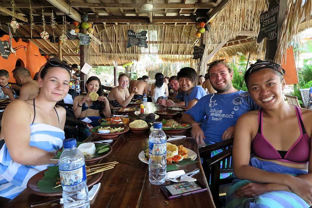 Padang Bai Lunch