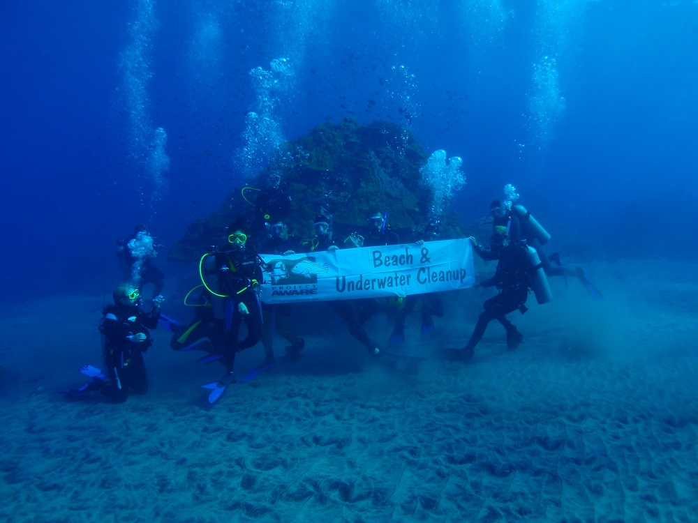 Environmentally friendly dive in Bali