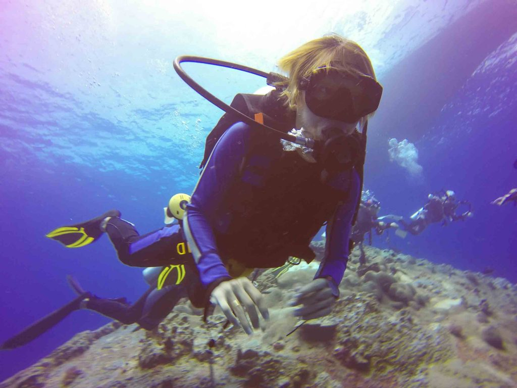 advanced open water bali